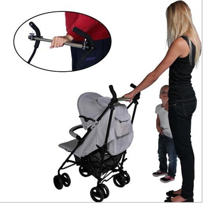 Sétáló Buggy segédkar egy kézzel vezérelheti az utazási baba irányát
