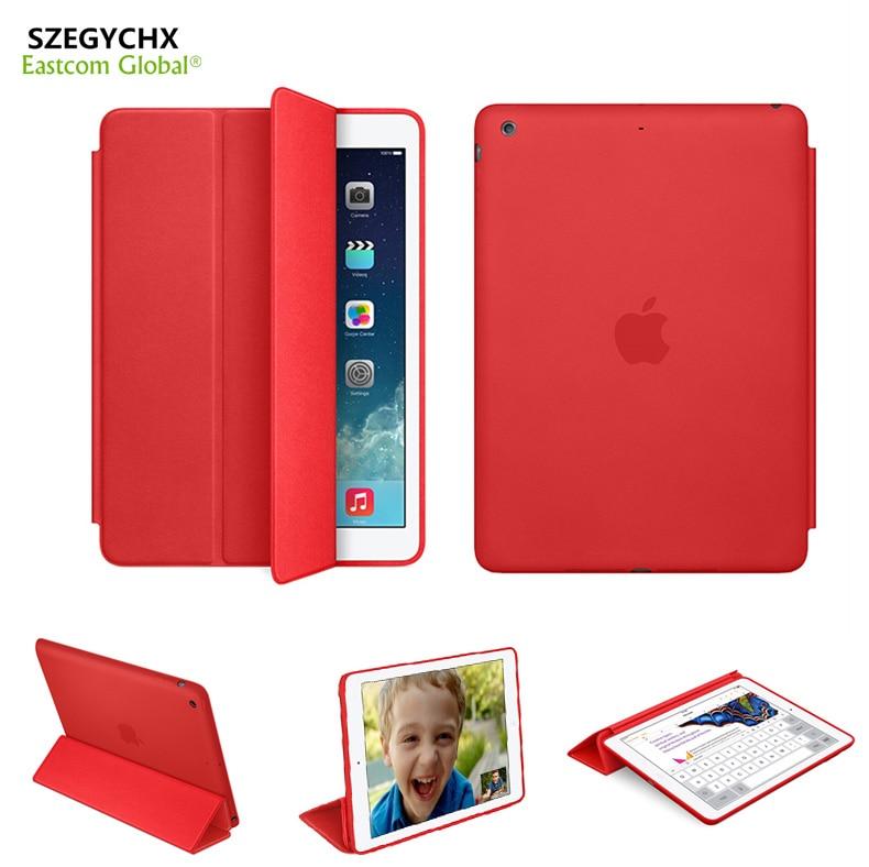 Original 1 1 PU Leather Case For iPad Mini 123 Smart Cover For iPad Air 1