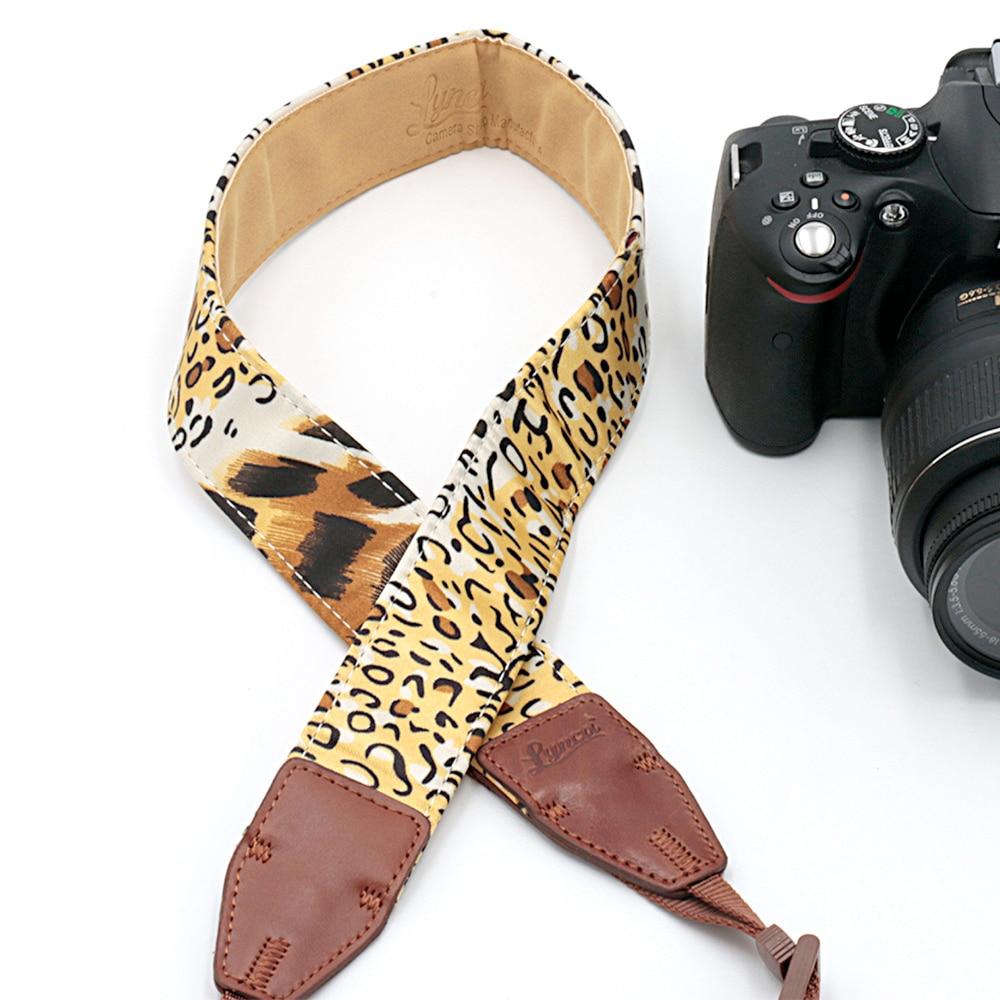 Leopard LB-05Camera Shoulder Strap Sling Shooting Belt Strap For SLR DSLR For Canon Nikon Sony Camera free shipping