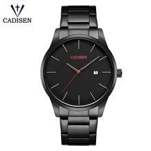 Cadisen C2021 Fashion Men Watches Luxury Quartz Sports Wrist Watch Simple Calendar Business Watch Relogio Masculino For Man