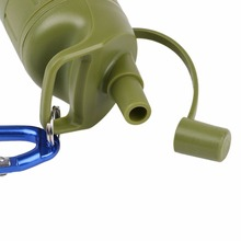 Outdoor Survival Camping Equipment Military Mini Water Filter Portable Outdoor Water Straw Filter ZP201