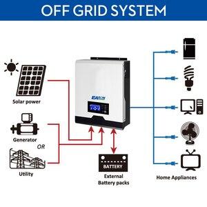 Image 2 - EASUN POWER 2400 واط الشمسية العاكس 220 فولت 40A MPPT 3Kva نقية شرط لموجة العاكس 50 هرتز 60 هرتز خارج الشبكة العاكس 24 فولت شاحن بطارية