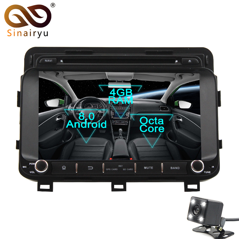 sinairyu android 8 0 octa core 8 car dvd player for kia. Black Bedroom Furniture Sets. Home Design Ideas