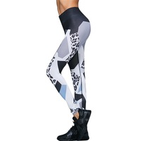 Women's Active Wear Pants Leopard Printing Leggings Casual High Waist Pants Workout  Leggings Newest Pants & Capris