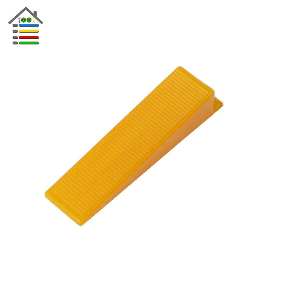 100 יח'\חבילה פלסטיק טריזי אריח מרווחי פלס ריצוף קרמיקה Tilers שרברבים פער קיר רצפת D סוג אריח פילוס מערכת כלי