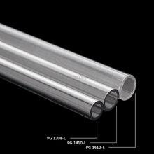OD 12 мм 14 мм 16 мм PETG водяное охлаждение жесткая трубка для ПК система водяного охлаждения 50 см AUG_22 Прямая поставка