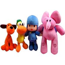 6 Styles 12-26cm POCOYO Cartoon Stuffed Animal & Plush Toy Hobbies Loula Elly Pato Soft For Kid Baby Gift