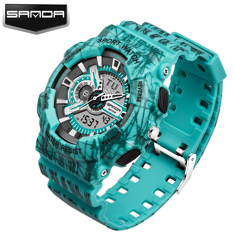 New Outdoor Army Military Sport Watch Men Top Luxury Brand Famous Male Clock Led Digital Wrist