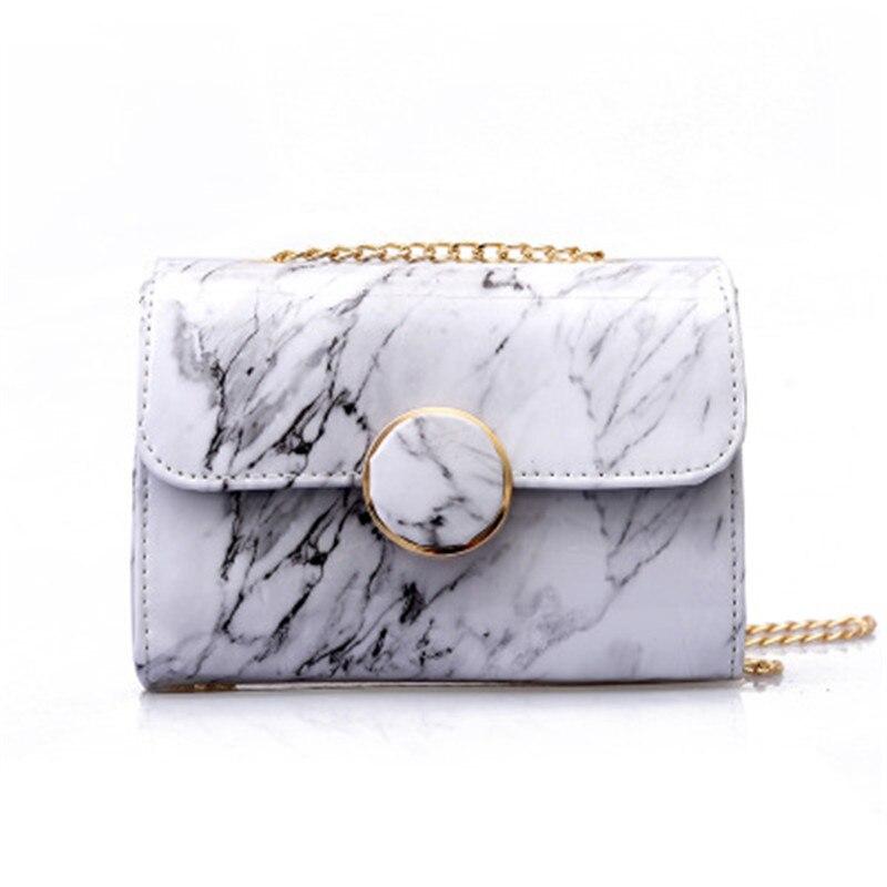 NIBESSER сумки для Для женщин 2018 Мода Мрамор Линии Акриловые классический дизайнер Crossbody сумки для Для женщин цепи Shopper Sac Femme