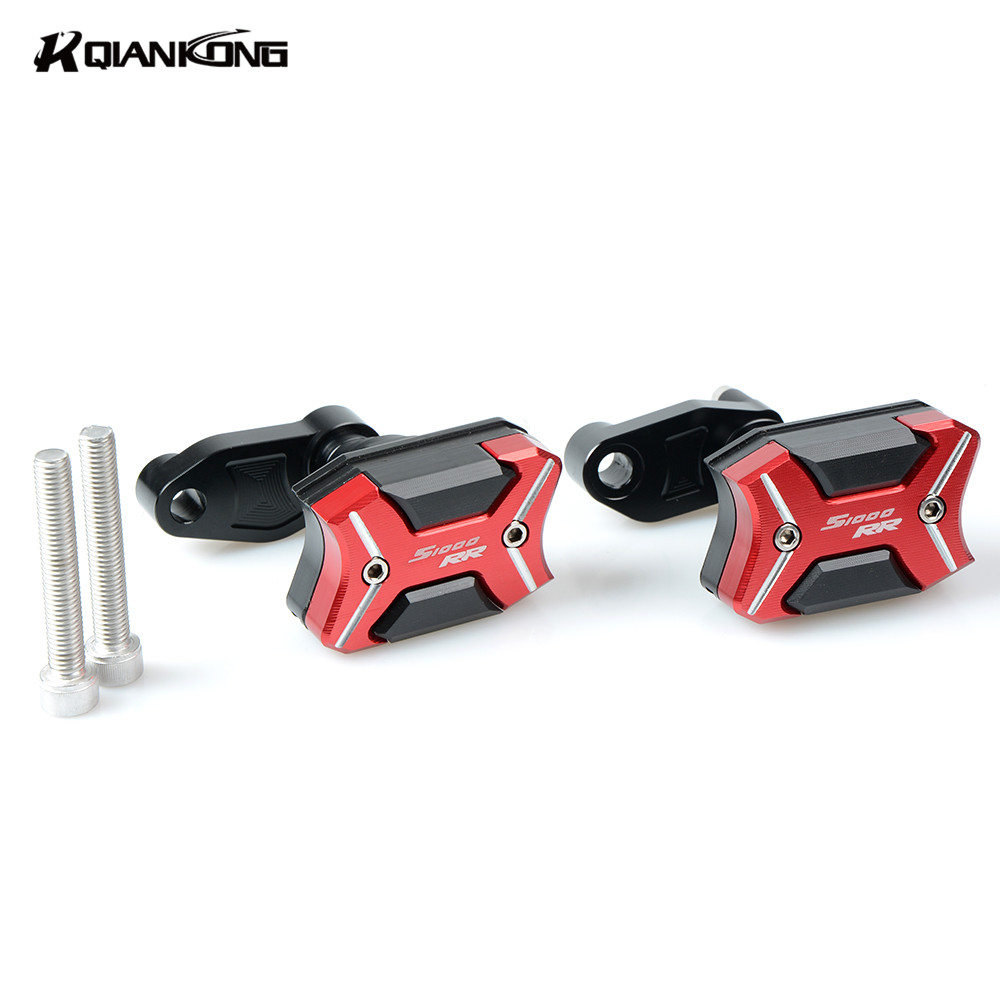 For BMW S1000RR 2010 2011 2012 2013 2014 2015 CNC Aluminum Left Right Motorcycle Frame Slider Anti Crash pads Protector