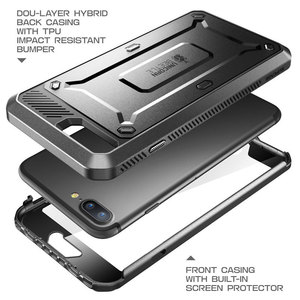 Image 2 - SUPCASE For iphone 7 Plus Case UB Pro Full Body Rugged Holster Clip Case Protective Cover with Built in Screen Protector