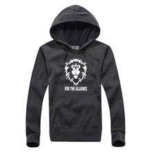 Men's Hooded Game Printed Pullover Sweatshirt