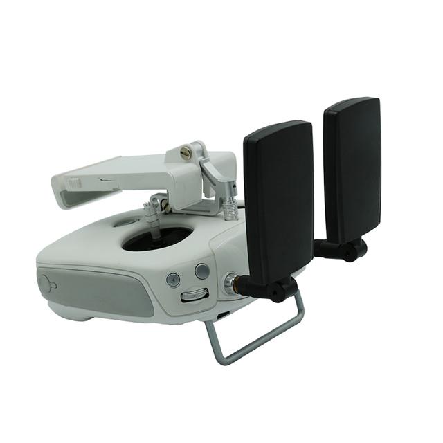Diy amplificador de señal de alta ganancia 7dbi antena de montaje para dji inspire 1/phantom 3 profesional y avanzada