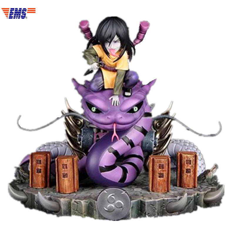Anime Naruto Akatsuki Organization Q Version Orochimaru GK Resin Limit Statue Action Figure Model Toy X467Anime Naruto Akatsuki Organization Q Version Orochimaru GK Resin Limit Statue Action Figure Model Toy X467