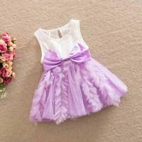 New Children Baby Fairy Lace Floral Cotton Sling Dresses Girls Princess Boutique Flower Unique Dress