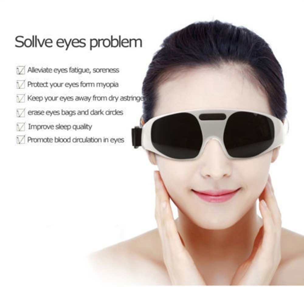 Migraine Electric Forehead Glasses Eye Care Relax Massager Eye Fatigue  Stress Tension Relief-in Massage   Relaxation from Beauty   Health on  Aliexpress.com ... 2dc007cd62c71
