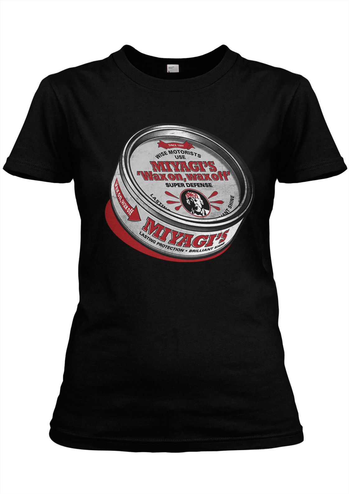 Модная летняя футболка с короткими руками miyagis Воск Премиум Гирли каратэ, борьба, кино, KULT, додзе, малыш, cobra Kai, весело