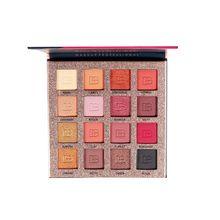Beauty Glazed Cosmetic Eye Makeup Eyeshadow Palette Matte Pigmented Nude Waterproof Natural  Color Eyeshadows