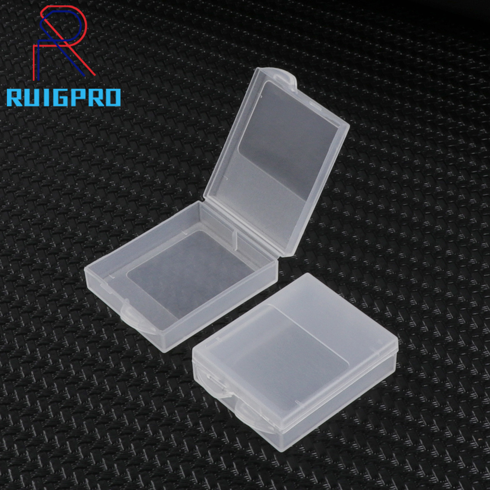 2PCS Go Pro Battery Protective Storage Box Case For GoPro Hero 8 7 6 5 4 Session Xiaomi Yi MiJia 4k Eken Camera Accessories Bag