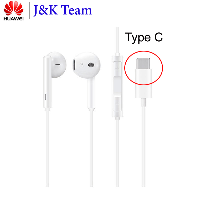 Original Huawei Headset USB Type C Port In Ear Earphone