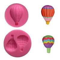 Hot Air Balloon Shape Silicone Mold fondant Cupcake Sugar Craft Lollipop Chocolate gumpaste clay mould DIYgift decoration tools