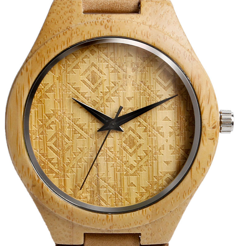 Watches Wooden Watch Women Men Vintage Leather Quartz Wood Dress Watch Clock New Luxury Genuine Leather Strap Wristwatches Gift new lvpai vintage women fashion quartz watch faux leather men dress watch unisex casual wristwatches wood grain watches clock