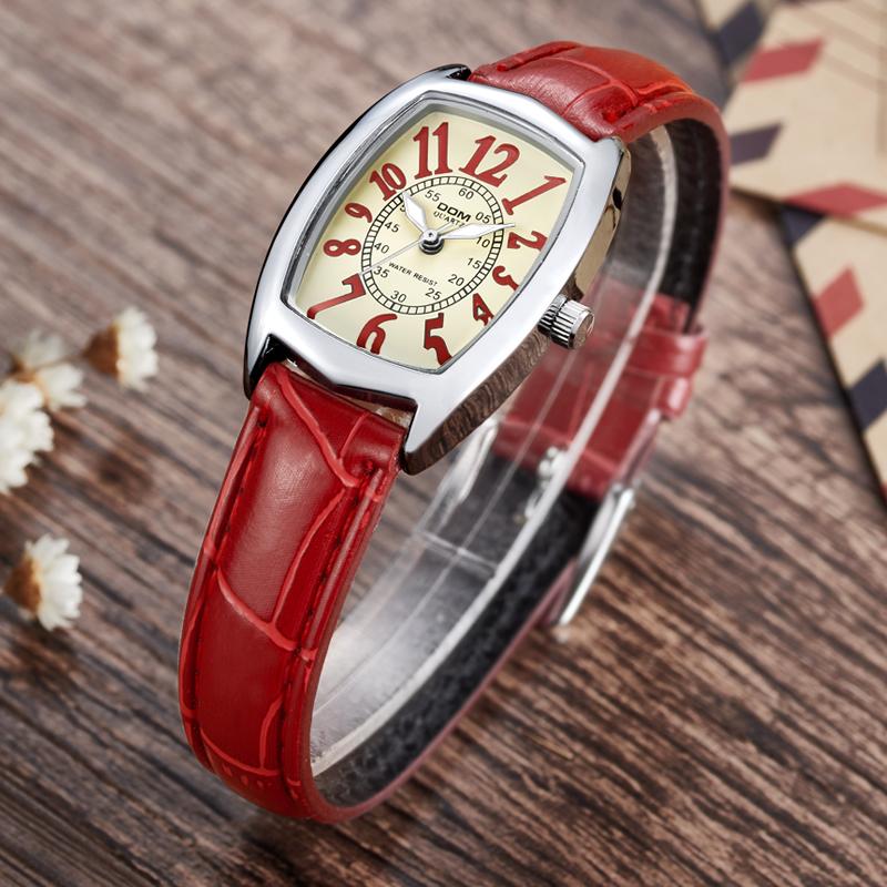 Prix pour DOM marque de luxe étanche style montre à quartz en cuir femmes reloj de las mujeres montres femmes 1208
