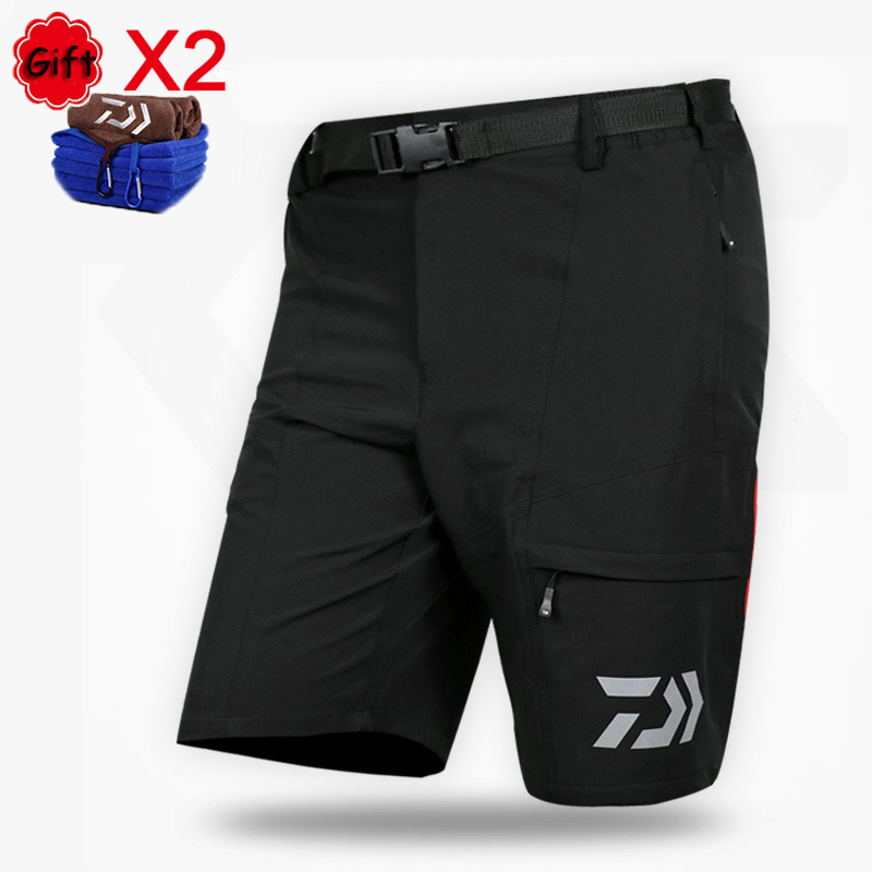 Men Summer Fishing Clothing Short Pants Quick Drying Fishing Clothes for Outdoor Sports Fising Camping Hiking with Free TowelMen Summer Fishing Clothing Short Pants Quick Drying Fishing Clothes for Outdoor Sports Fising Camping Hiking with Free Towel