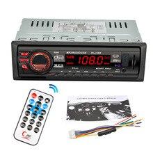 8288 Del Coche de Radio Audio Estéreo Reproductor de MP3 Bluetooth DC 12 V AUX Receptor FM U Disco Tarjeta Secure Digital Electrónica de Control Remoto Control