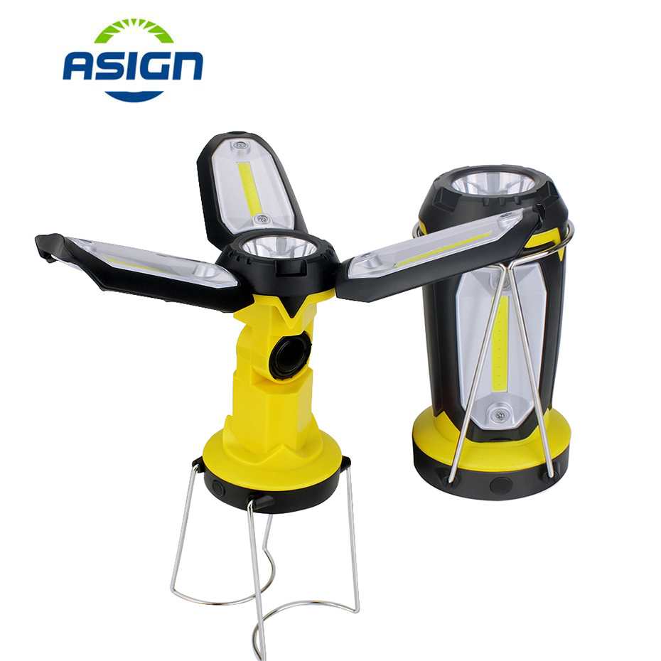 Hot Price Portable Led Work Light Rechargeable Built In