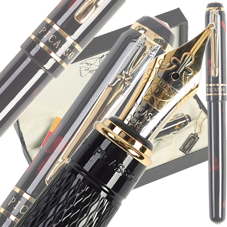 Fountain Pen M Nib 22kgp Original Picasso 998 school and office stationery  Free ShippingFountain Pen M Nib 22kgp Original Picasso 998 school and office stationery  Free Shipping