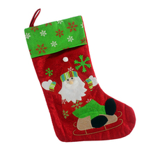 24pcs/lot Cute Christmas Gift Socks Stockings Wine Bottle Candy Package Bags X'mas Hotel Shop Restaurant Ornaments HX491