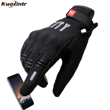 Nuoxintr Motorcycle Gloves Guantes De La Motocicleta Glove Full Finger Motocross Luvas Screen Touch Cycling Racing Spor цены онлайн