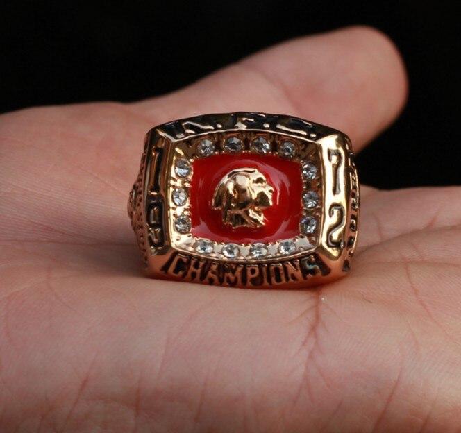free shipping Washington Redskins 1972 Super Bowl championship rings for gift sport men NFL ring