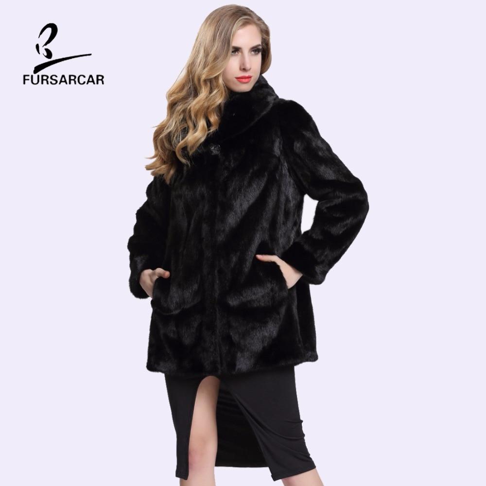 Popular Real Mink Fur Coat-Buy Cheap Real Mink Fur Coat lots from ...