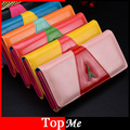 New Fashion Women Wallet Patent PU Leather Hasp Long Lady Coin Purse Eiffel Tower Moneybags Clutch Wallet Cards Holder bags