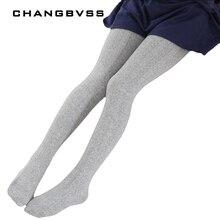 все цены на Spring Autumn Cotton Leg Warm Kid Baby Girls Stockings Knitted Kids Pantyhose Children Tights Stockings For Baby Girls 2-10T
