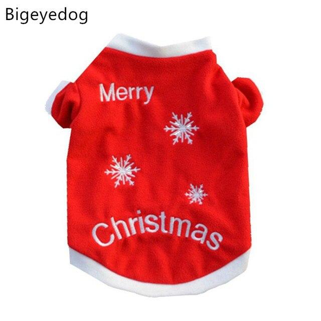 48340761dcc4e1 Wesołych świąt świąteczne ubranka dla psów zimowe boże narodzenie ubrania  dla zwierząt domowych Shih Tzu Yorkie