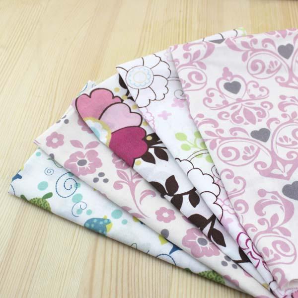 ΞAlgodón de punto ropa de costura y tela impresión artesanías ...