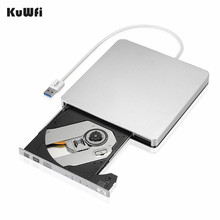 все цены на External Slim USB 3.0 DVD Burner DVD-RW VCD CD RW Burner Drive Writer Drive For Apple Pro Air iMAC PC Laptop Notebook онлайн