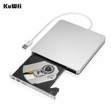 Zewnętrzne Slim USB 3.0 DVD palnik DVD-RW VCD CD dynapro i * cept RW napęd palnika pisarz jazdy dla Apple Pro Air iMAC PC laptop Notebook(China)