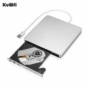 External Slim USB 3.0 DVD Burner DVD-RW VCD CD RW Burner Drive Writer Drive For Apple Pro Air iMAC PC Laptop Notebook