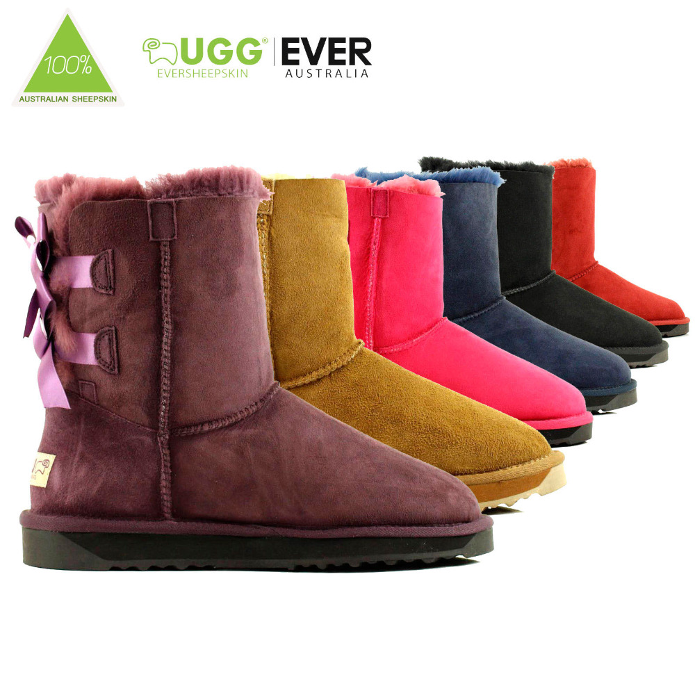 UGG boots Bailey Button II brown on AliExpress