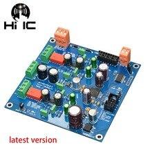Decodificador AK4497EQ DAC, circuito estándar oficial, 1 Uds. Kit de tablero I2S DSD con entrada semiacabada, Control suave, envío gratis