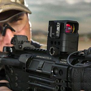 Image 4 - DI óptico FC1 punto rojo mira alcance holográfica mira Rifle de francotirador alcance para la visión óptica de la caza del carril de 20mm