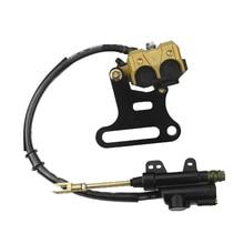 Buy REAR HYDRAULIC BRAKE ASSEMBLY CALIPER CYLINDER For  DIRT PIT BIKE ATV 70cc 110cc 125cc 140cc 150cc 200cc