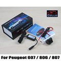 Para Peugeot 607 / 806 / 807 Eurovans / luz de aviso de alarme Laser faróis de nevoeiro / traseira Anti colisão lanterna traseira de LED Auto acessórios