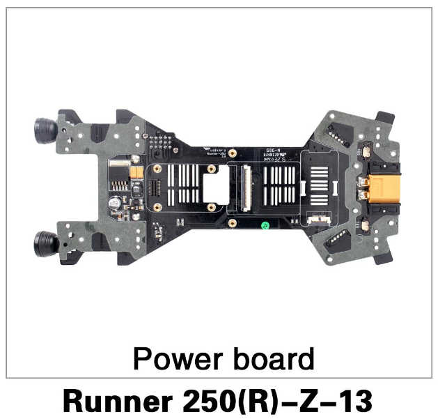 Gratis Verzending Originele Walkera Runner 250 Advance Propellers Onderdelen Power Board Runner 250 (R)-Z-13