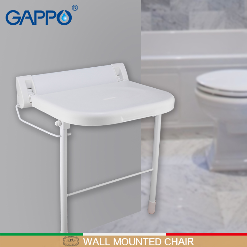 Pleasant Us 84 46 52 Off Gappo Wall Mounted Shower Seats Bathroom Folding Chair Shower Folding Seat Bath Folding Bench Shower Stool Toilet In Wall Mounted Ocoug Best Dining Table And Chair Ideas Images Ocougorg