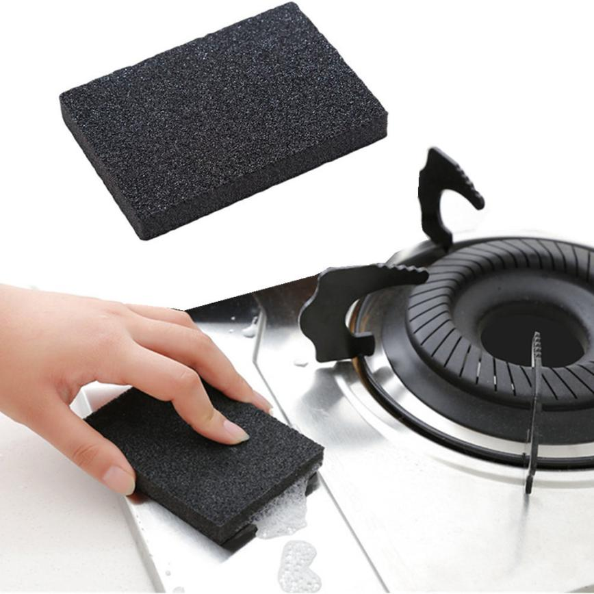 Kitchen Cleaning Sponge Nano Emery Magic Clean Rub Pot Rust Focal Stains Sponge Removing Kit 2O0307